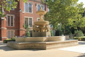 Engineering Courtyard and Fountain