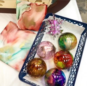 Holiday Alcohol Ink Workshop
