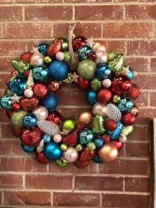 Christmas Ornament Wreath Workshop