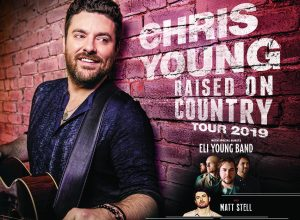 Chris Young With Eli Young Band And Matt Stell