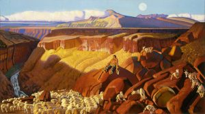 Drop-In Drawing: Afternoon of a Sheepherder