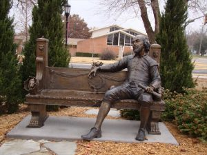 Shakespeare Bench