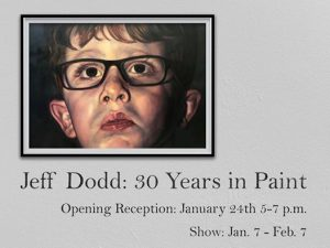 Jeff Dodd: 30 Years in Paint Exhibition
