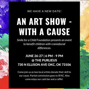 Smile for a Child Foundation Art Show