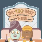 37th Annual Omelette Party (+Art Raffle)