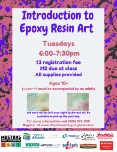 Introduction to Epoxy Resin Art