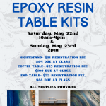 Epoxy Resin Table Kits